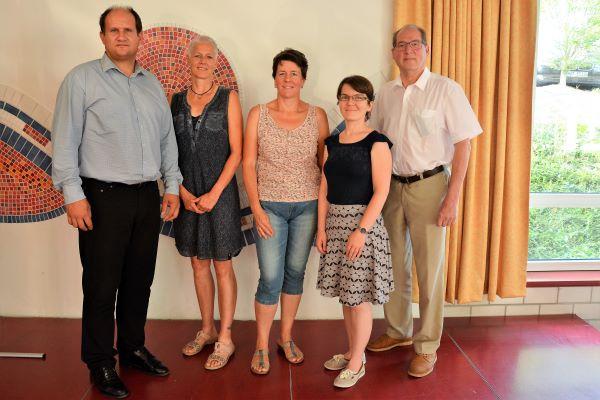 Vorstand Förderverein GMS-Horb